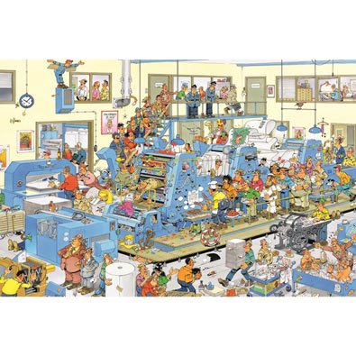 The Printing Office 3000 Piece Jigsaw Puzzle