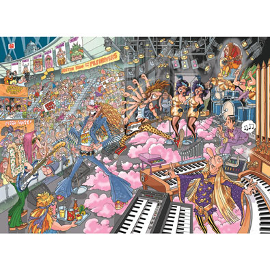 Old Time Rockers 1000 Piece Wasjig Puzzle