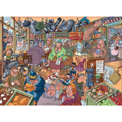 Shopping Shake Up 1000 Piece Wasgij Puzzle