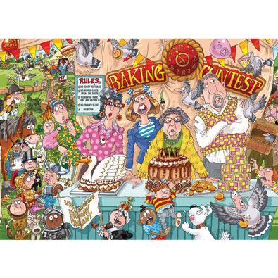 Baking Contest 1000 Piece Wasjig Puzzle