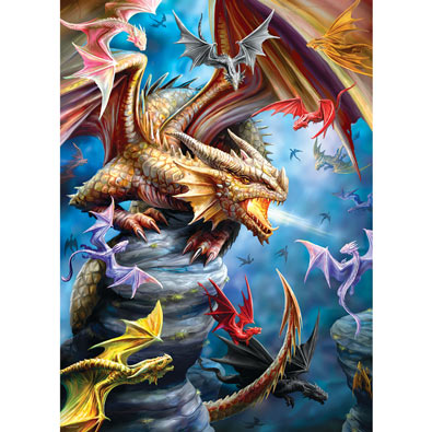 Dragon Clan 1000 Piece Jigsaw Puzzle