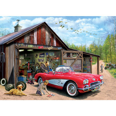 Out of Storage 1000 Piece Jigsaw Puzzle