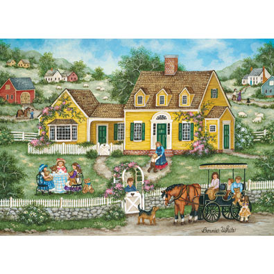 Teddy Bear Tea Party 1000 Piece Jigsaw Puzzle