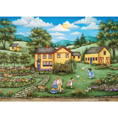 Butterfly Gardens 1000 Piece Jigsaw Puzzle