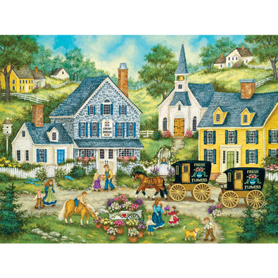 Afternoon Treat 550 Piece Jigsaw Puzzle