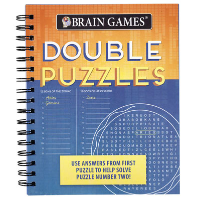 Double Puzzles Book