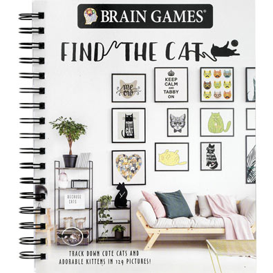 Find the Cat Picture Puzzle Book