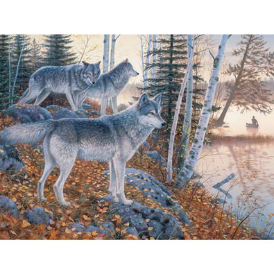 Silent Travelers 1000 Piece Jigsaw Puzzle
