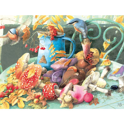 Fall's Bounty 300 Large Piece Jigsaw Puzzle