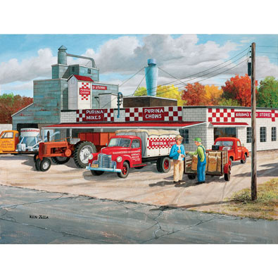 Grows Feed Store 500 Piece Jigsaw Puzzle