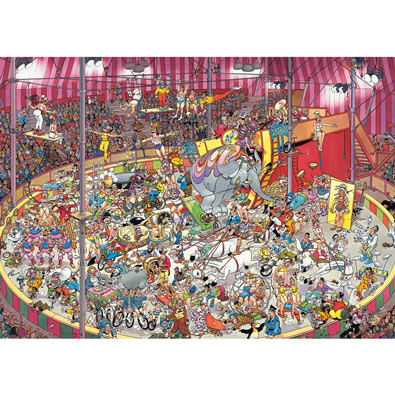 The Circus 1000 Piece Jigsaw Puzzle