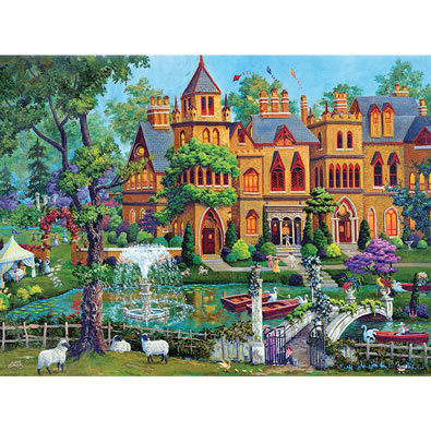 The Top of Bay Street 1000 Piece Jigsaw Puzzle