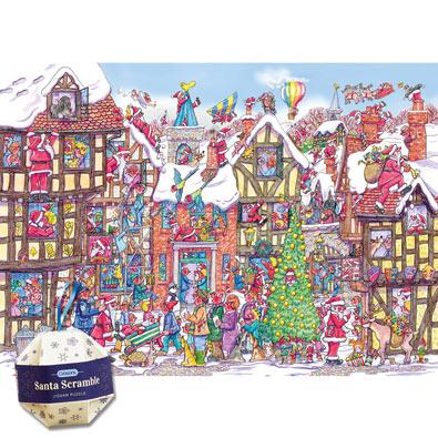 Santa Scramble Puzzle