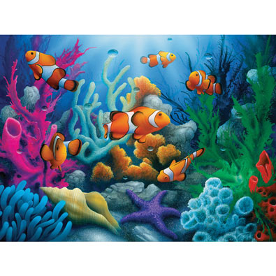 Here Comes the Clowns 300 Large Piece Jigsaw Puzzle