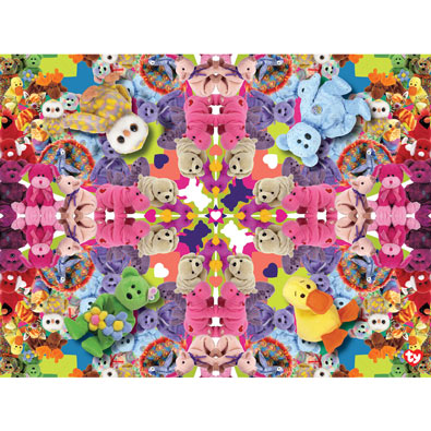 Jewel Kaleidoscope 300 Large Piece Jigsaw Puzzle