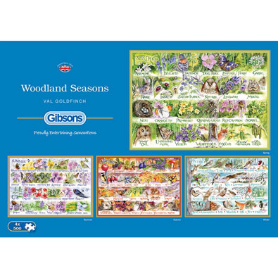 Woodland Seasons 4 in 1 Multipack Set