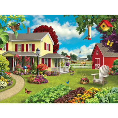 Country Home 300 Large Piece Jigsaw Puzzle