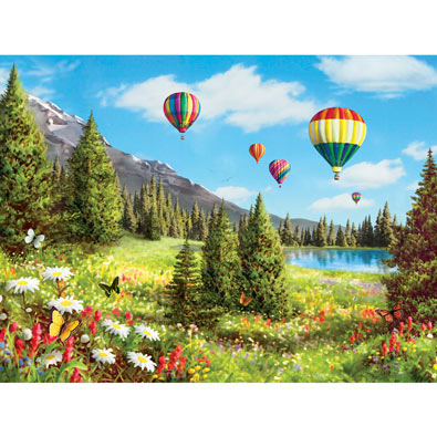 Floating on Air 300 Large Piece Jigsaw Puzzle
