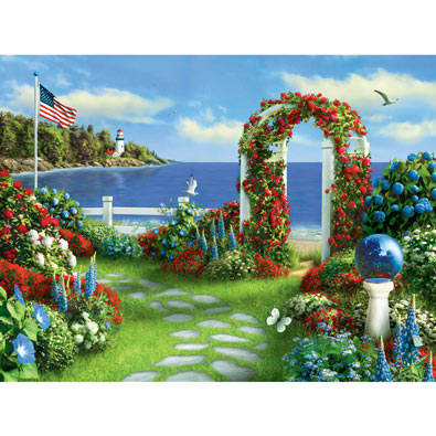 Silent Wings of Freedom 300 Large Piece Jigsaw Puzzle