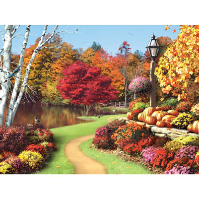 As Autumn Calls II 300 Large Piece Jigsaw Puzzle