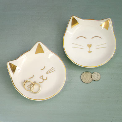 Cat Trinket Trays