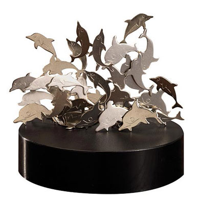 Magnetic Sculptures Dolphins