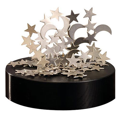 Moons and Stars Magnetic Sculpture
