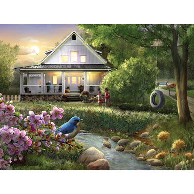 Summer Evening 300 Large Piece Jigsaw Puzzle