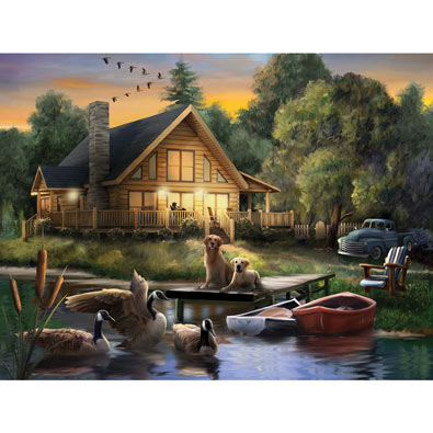 Guardians of the Lake 300 Large Piece Jigsaw Puzzle