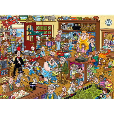 Toy Shop 1000 Piece Wasgij Puzzle