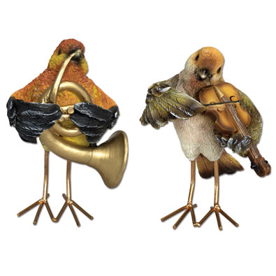 Musical Birds Statues