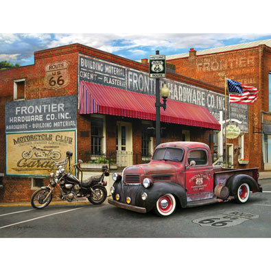 Frontier Hardware 550 Piece Jigsaw Puzzle