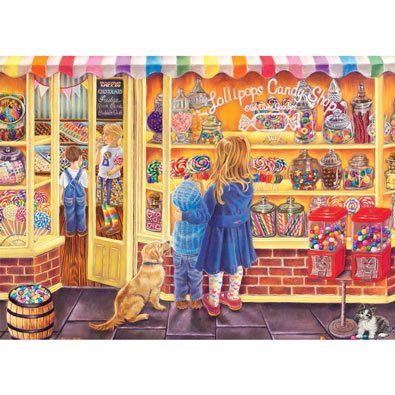 Lollipop Shop 1000 Piece Jigsaw Puzzle