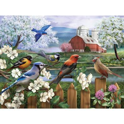 Spring Gathering  550 Piece Jigsaw Puzzle