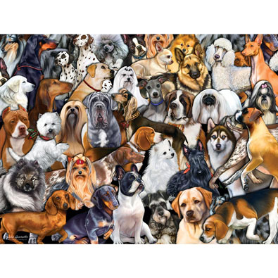 Dog World 300 Large Piece Pet Jigsaw Puzzle