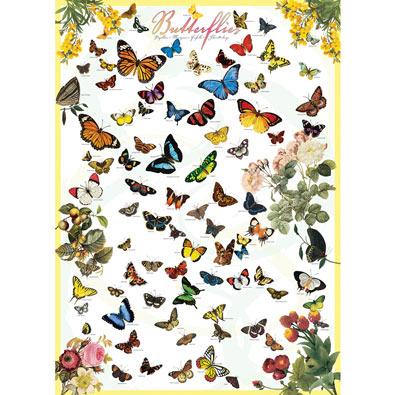 Butterflies 1000 Piece Jigsaw Puzzle