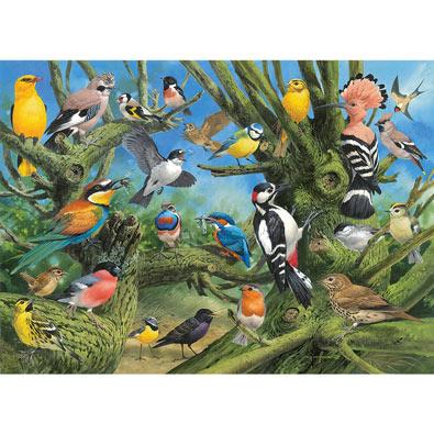 Garden Birds 1000 Piece Jigsaw Puzzle
