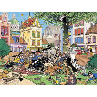 Get The Cat 500 Piece Jigsaw Puzzle