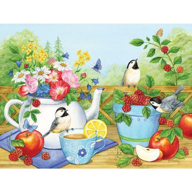 Summer Teatime 500 Piece Jigsaw puzzle