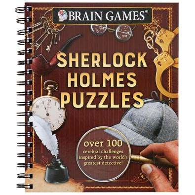 Crime Puzzle Book - Sherlock Holmes