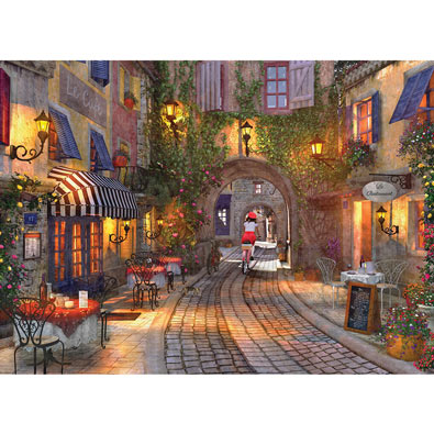 The French Walkway 1000 Piece Jigsaw Puzzle