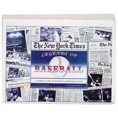 New York Times Legends of Sports- Baseball