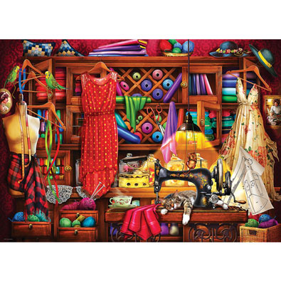 Sewing Room 1000 Piece Jigsaw Puzzle