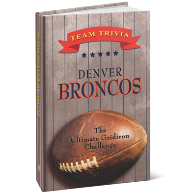 Team Trivia Books - Broncos
