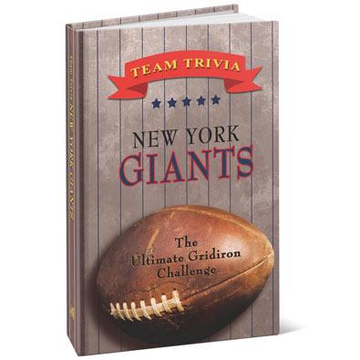 Team Trivia Books - Giants