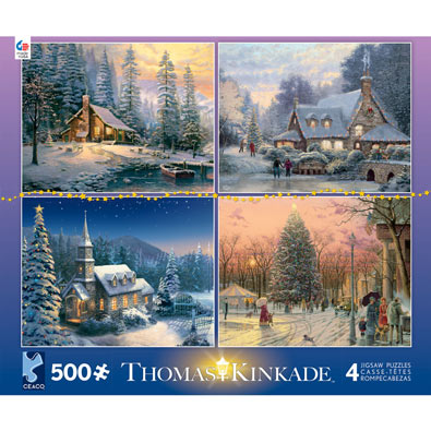 Thomas Kinkade 4 in 1 Multipack Set