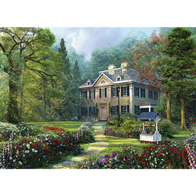 Long Fellow House 300 Large Piece Jigsaw Puzzle