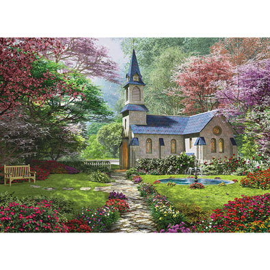 Blooming Garden 300 Large Piece Jigsaw Puzzle