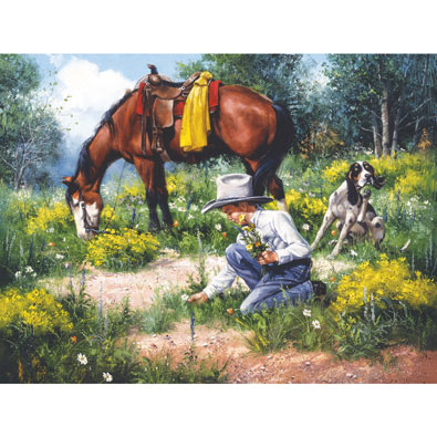 She'll Love These 300 Large Piece Jigsaw Puzzle