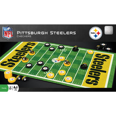 NFL Sports Checkers - Steelers